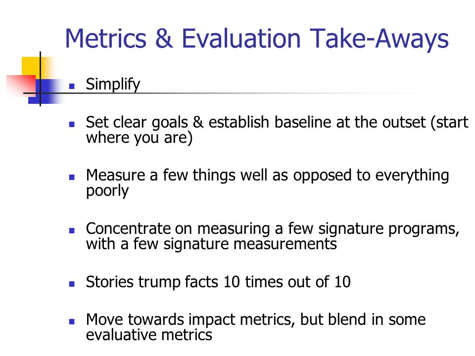 Trading system evaluation metrics
