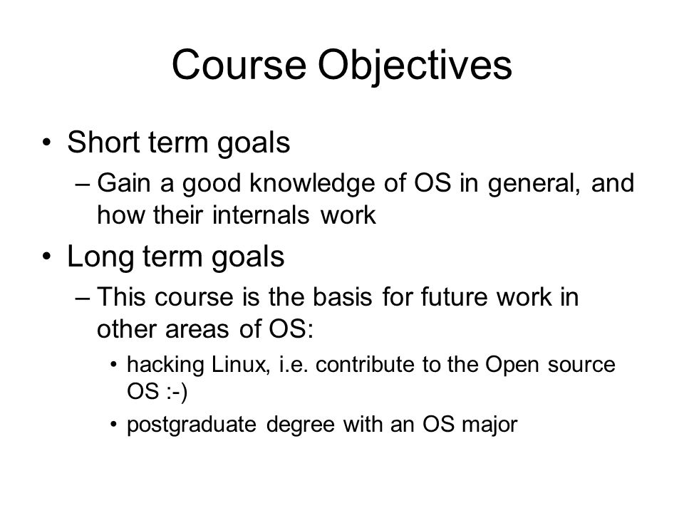 The goals and objectives that will contribute to effective conversation