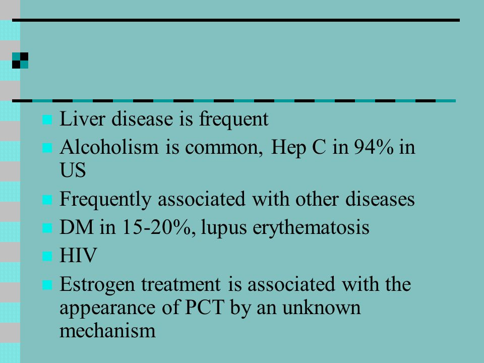 Liver disease is frequent