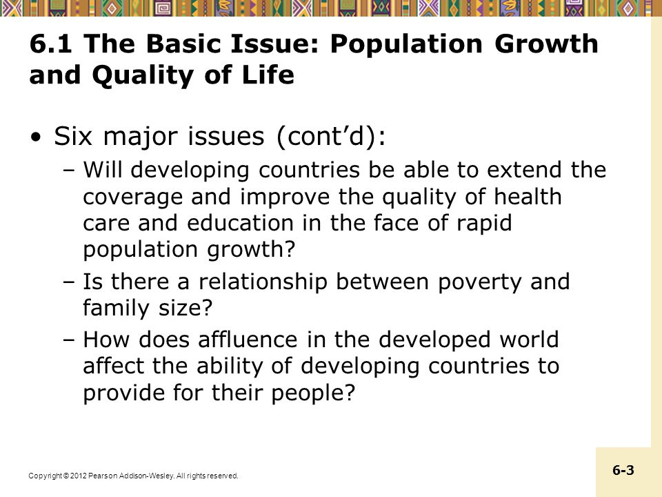 a description of the study about the rapid growth of world population Population growth trends, projections, challenges and opportunities introduction  rapid population growth,.