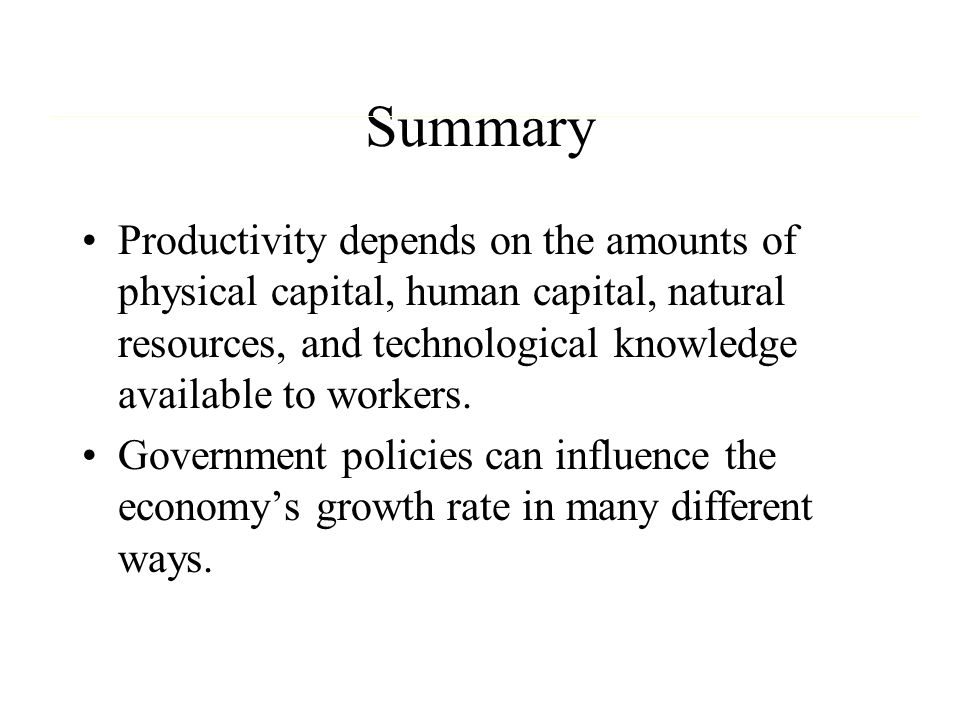 Diminishing Returns Of Natural Resources Ppt