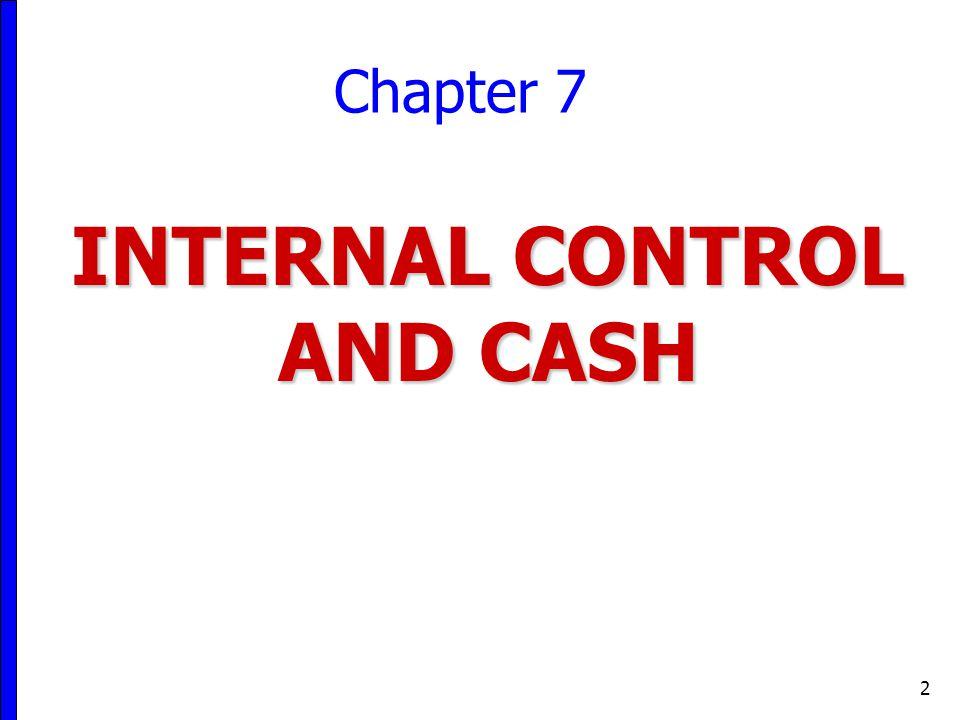internal control and cash pdf