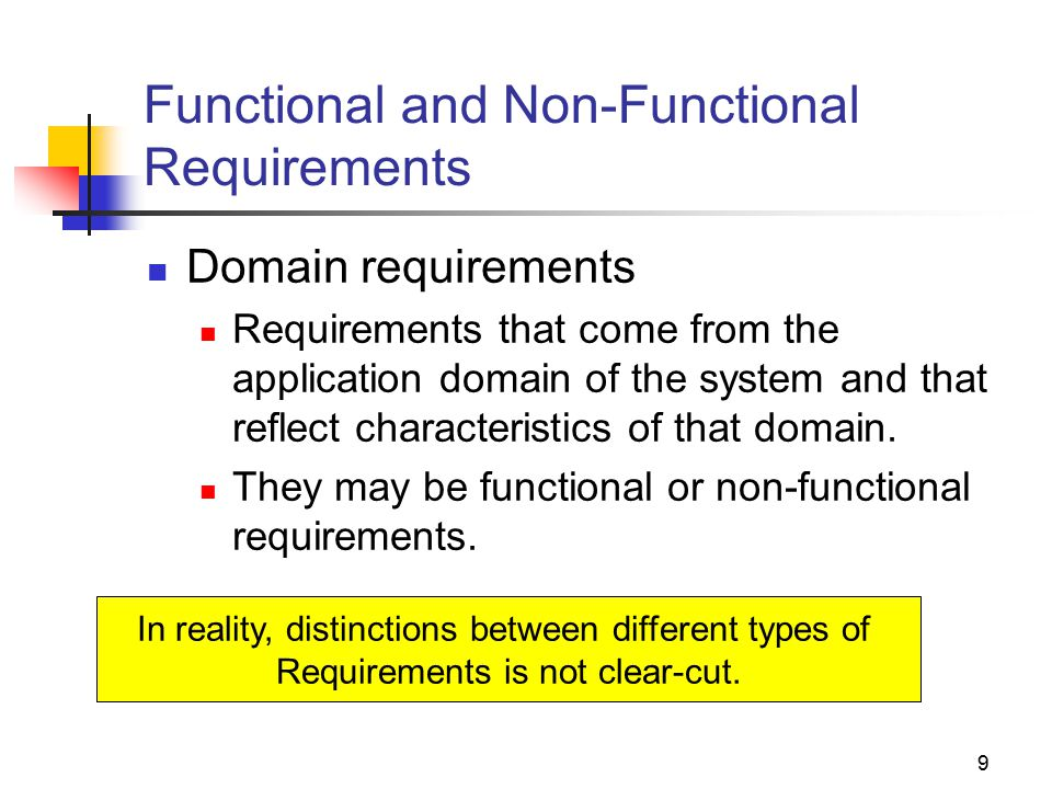 functional and non functional requirements Details of non-functional requirements (nfrs) that describe system attributes  such as security, reliability, maintainability, scalability, and usability (often  referred.