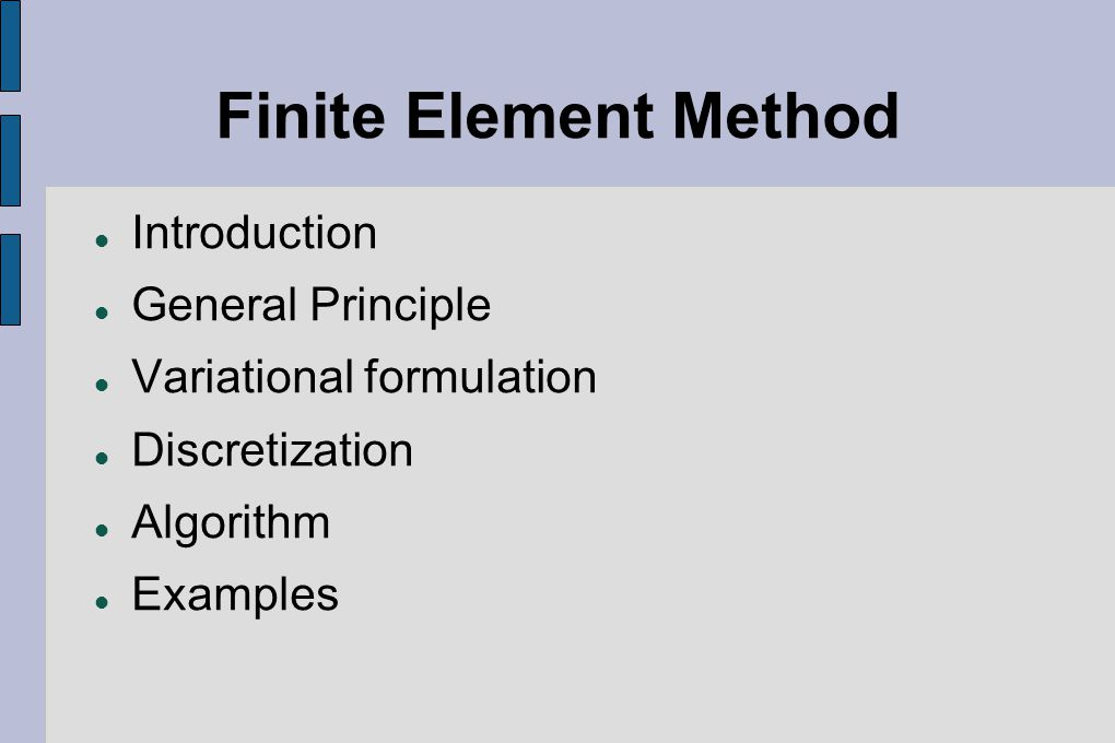finite element method introduction
