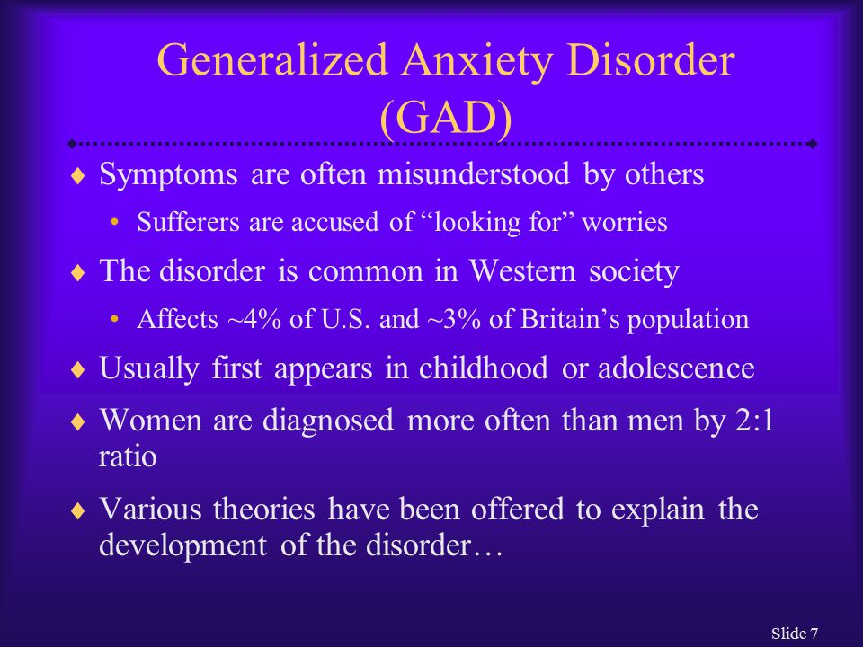 Chapter 5 Anxiety Disorders - ppt download