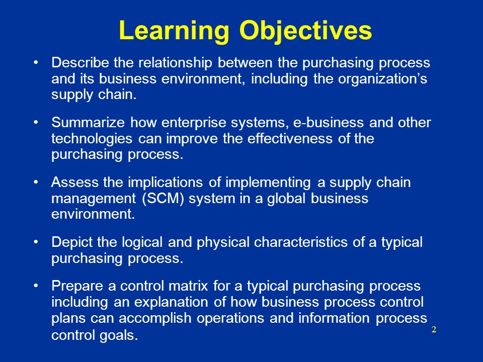 Chapter 12 The Purchasing Process Ppt Video Online Download