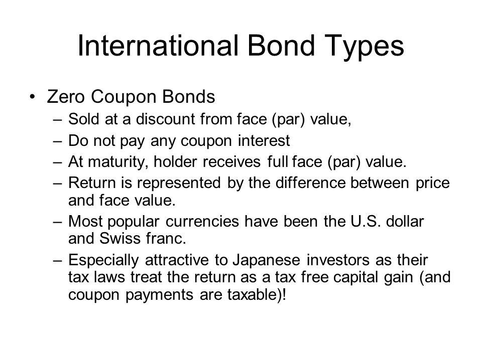 Zero coupon bond taxation uk