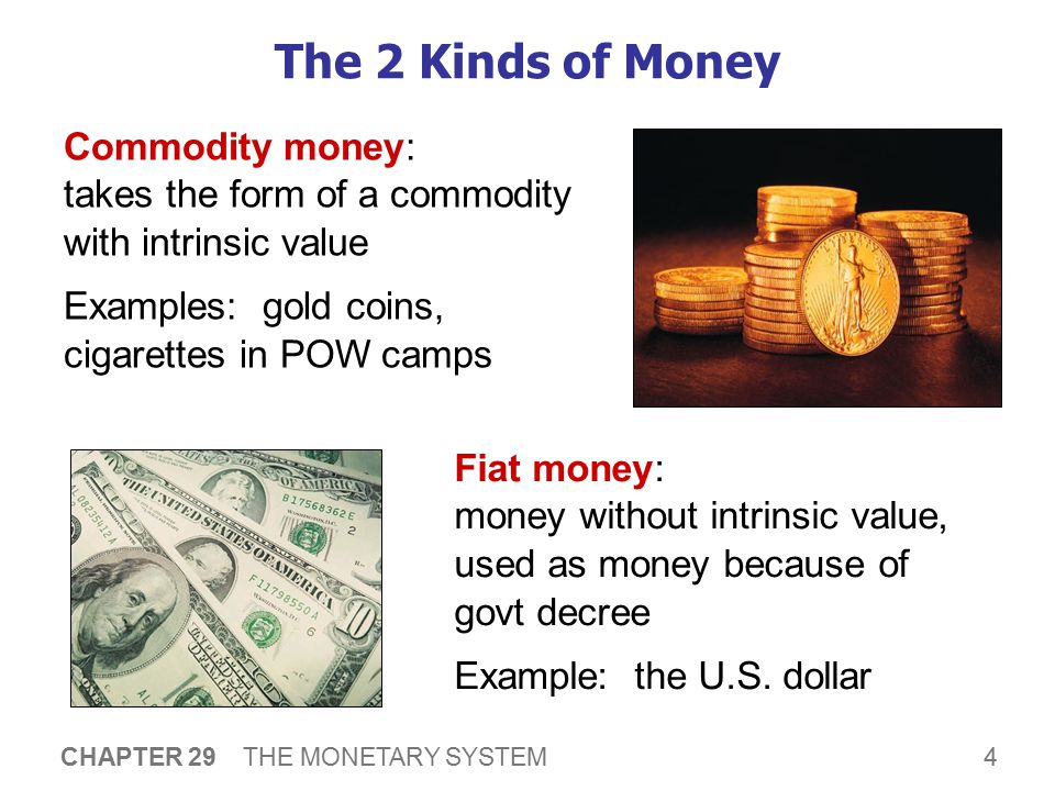 The Money Supply The money supply (or money stock): the quantity of money available in the economy.