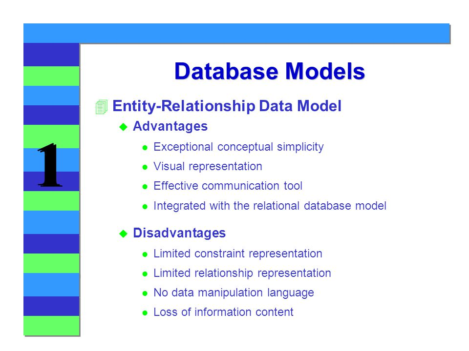 database entity relationship model Without adequate design documentation, it can be difficult for your oracle database application's stakeholders to understand how the database entities are defined and how they interact with one another a logical model—represented by an entity relationship diagram (erd)—clarifies these.