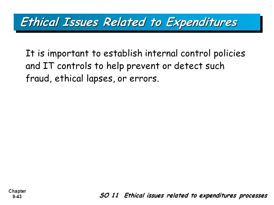 purchases expenditures processes and controls Internal control checklists in this manual should not be interpreted as an all-inclusive  and expenditures  are asset purchases approved by appropriate.
