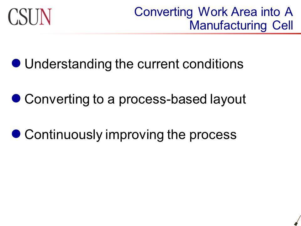 Mse507 lean manufacturing ppt video online download understanding the current conditions 3 converting sciox Choice Image