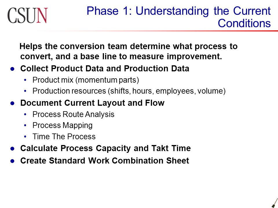 Mse507 lean manufacturing ppt video online download phase 1 understanding the current conditions sciox Choice Image