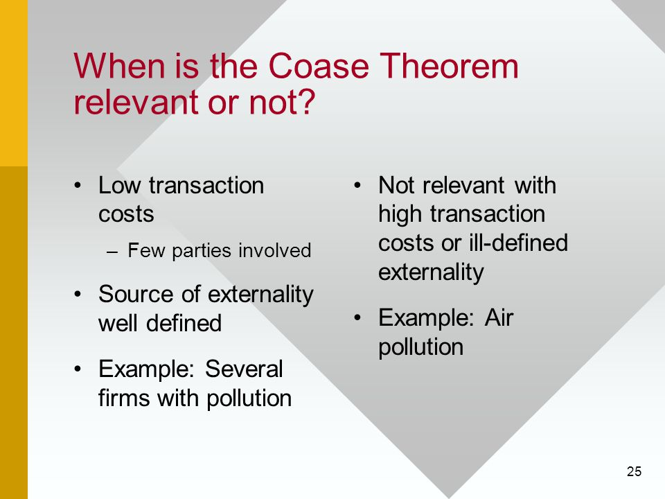 coase thoerem In this video, we use an example of bees and pollination to better understand the coase theorem.