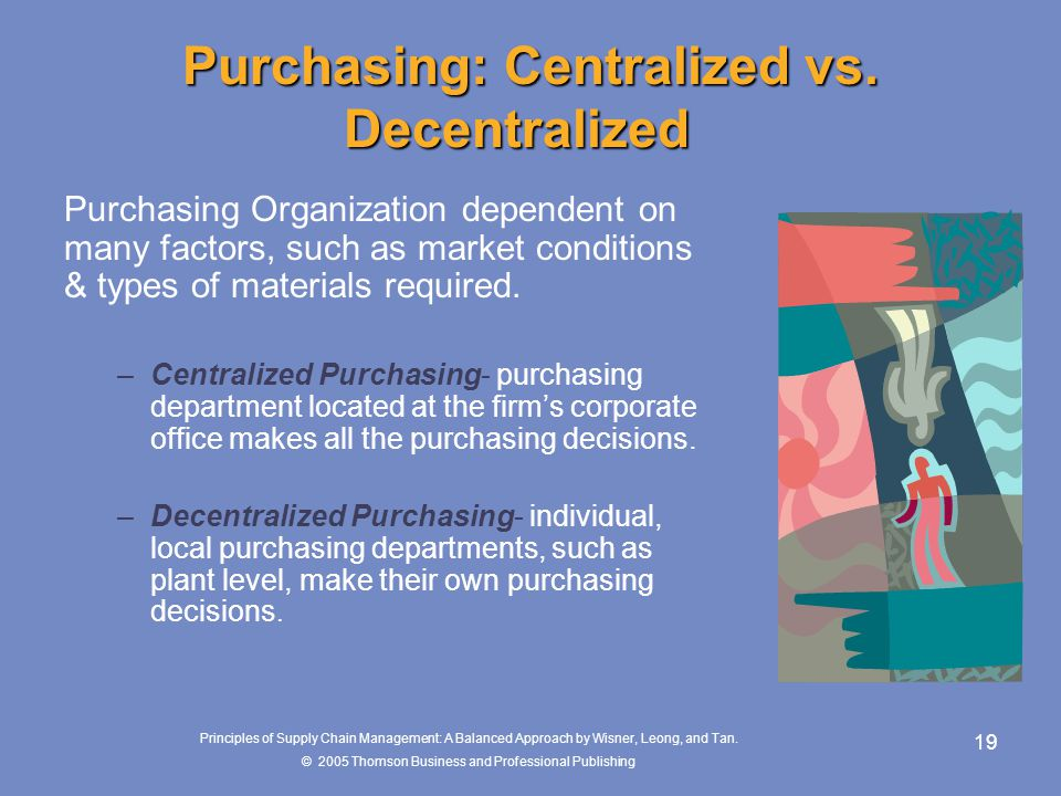 Purchasing: Centralized vs. Decentralized