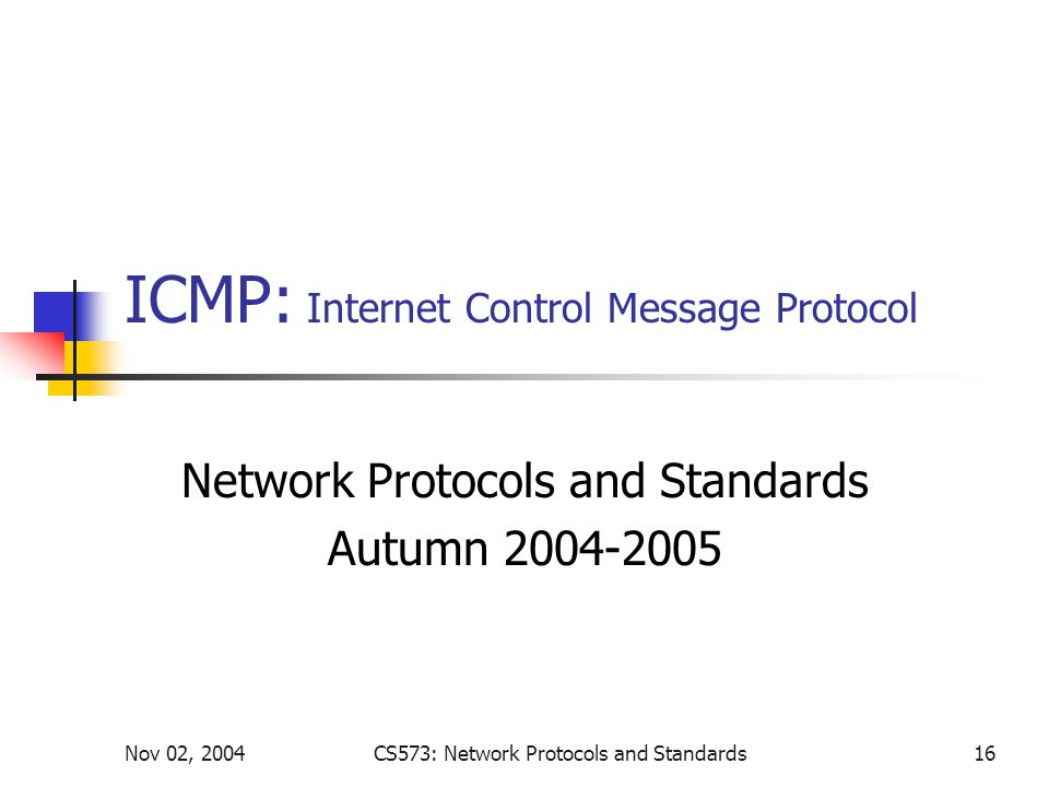 icmp internet control message protocol Internet control message protocol icmp definition - internet control message protocol (icmp) is a tcp/ip network layer protocol that provides.