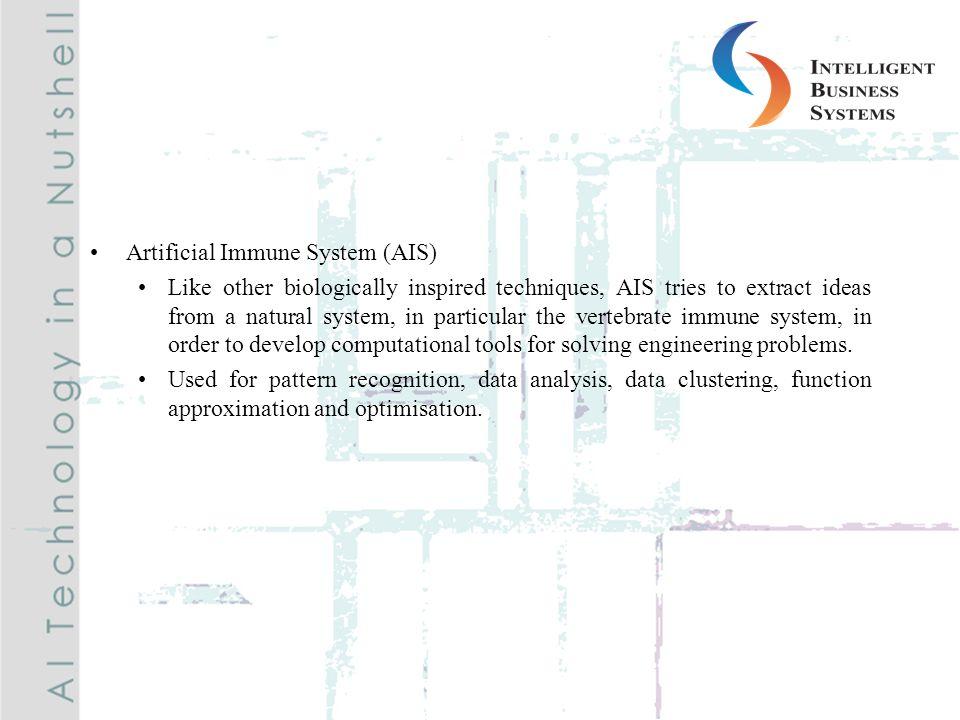 Artificial Immune System (AIS)