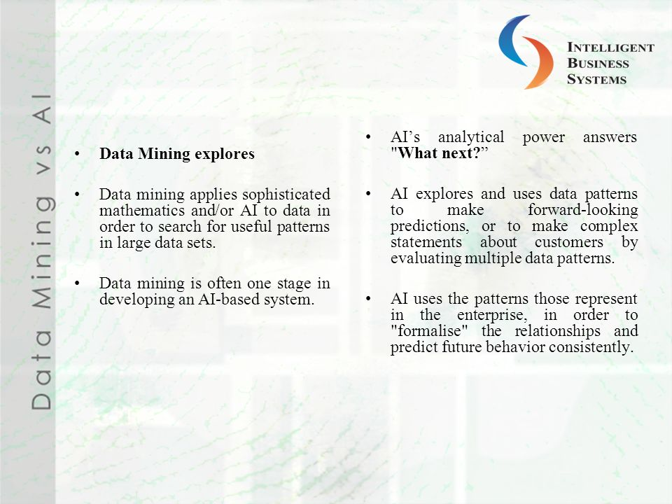 AI's analytical power answers What next