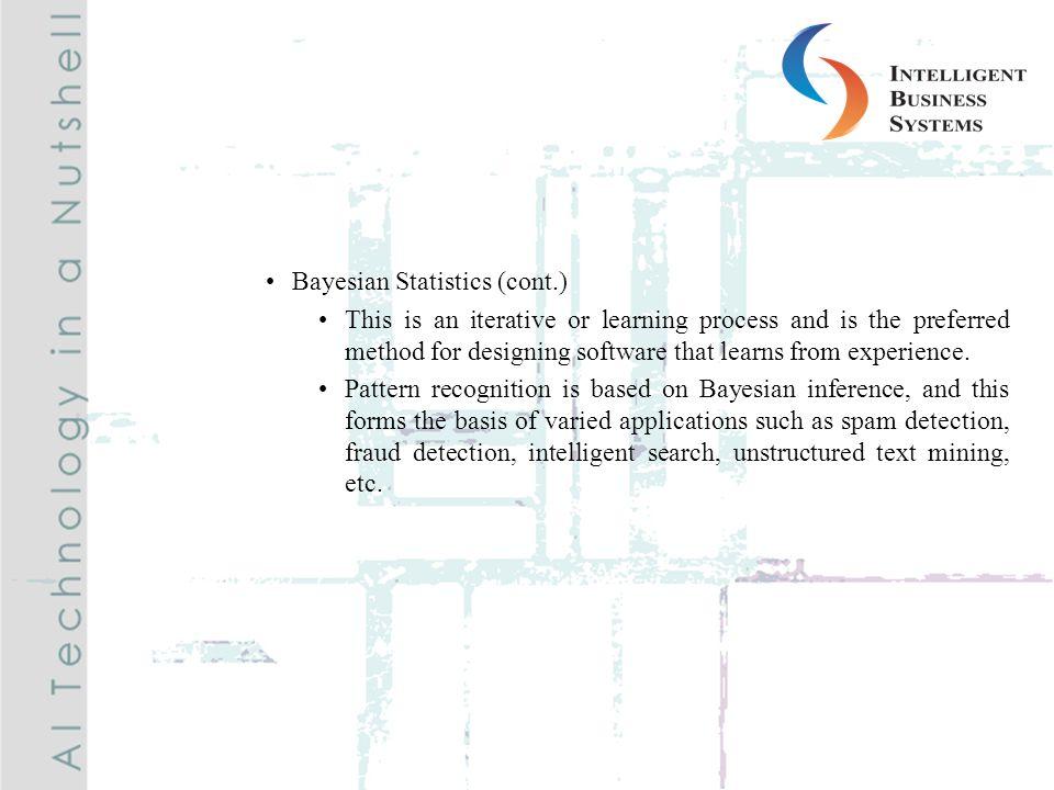 Bayesian Statistics (cont.)