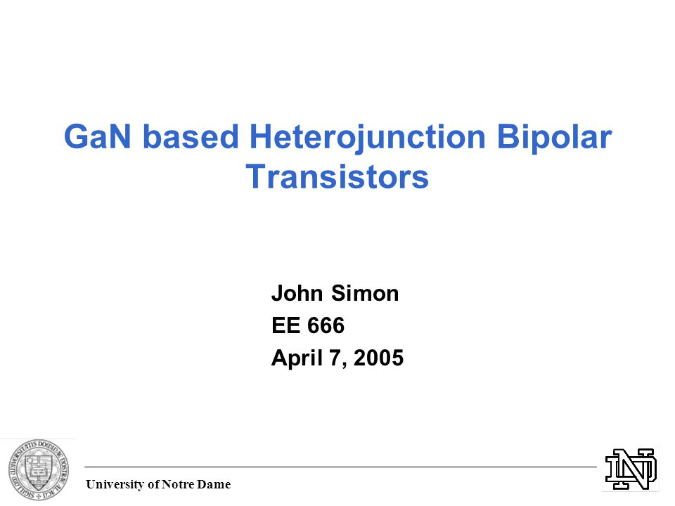 Ppt analysis of heterojunction bipolar transistors powerpoint.