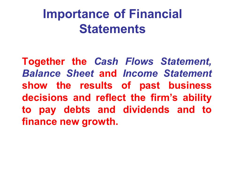 importance of cash flow statement The statement of cash flows reveals how a company spends its money (cash outflows) and where the money comes from (cash inflows) we know that a company's profitability, as shown by its net income, is an important investment evaluator it would be nice to be able to think of this net income figure as a.