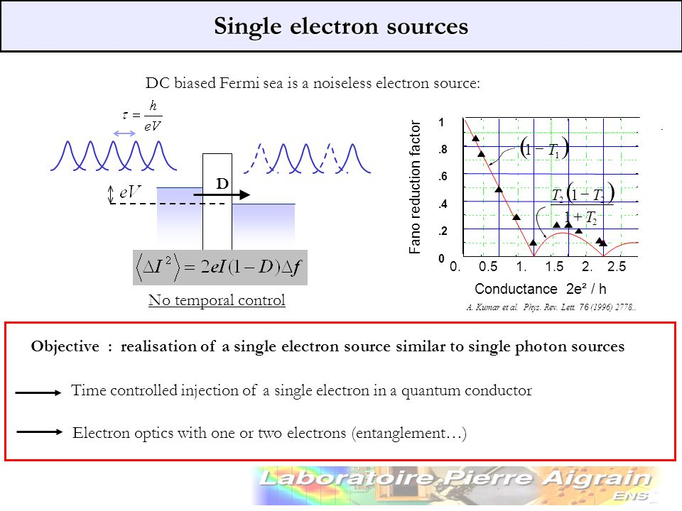 Single electron sources
