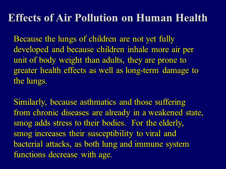 Air Pollution I. - ppt video online download