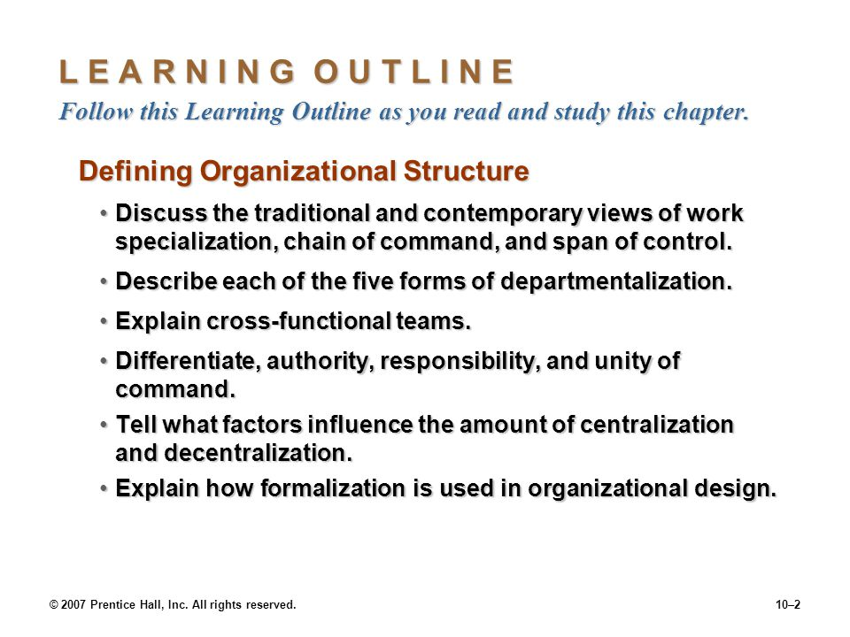 discuss and contrast the traditional and contemporary views of each of the six key elements of organ Traditional and contemporary organizational structures are distinguished by the level of control how to compare & contrast organizational the contemporary organization achieves the empowerment of working-level employees by introducing horizontal elements into the organizational.
