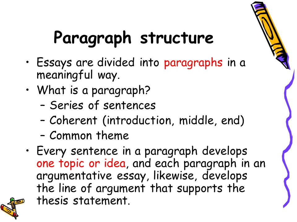 essay paragraph structure acronym Essay writing with teac  structure, but i find that these models do not convey the sophistication and analytical depth that is needed for a good paragraph / essay.