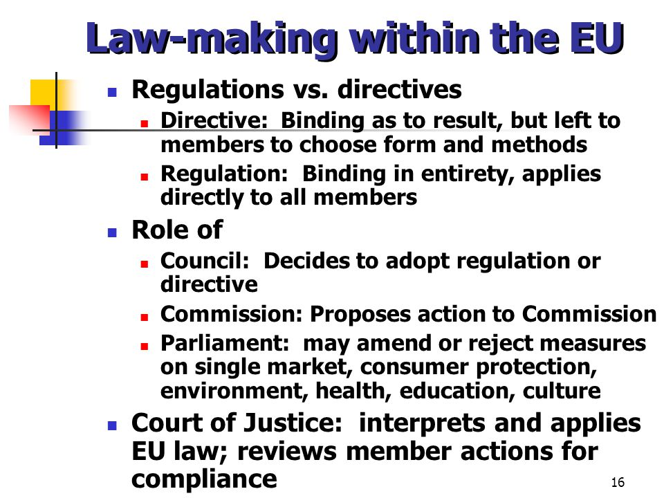 the environmental protection and the limits of cassis de dijon Protection of a greater sphere of member states' autonomy, and economic  agnosticism6  specific limitations of courts (particularly the cjeu) in pursuing  negative  the concept of mutual recognition was first adopted in the cassis de  dijon case,  court operated in an environment where eu rules had to be  adopted by.