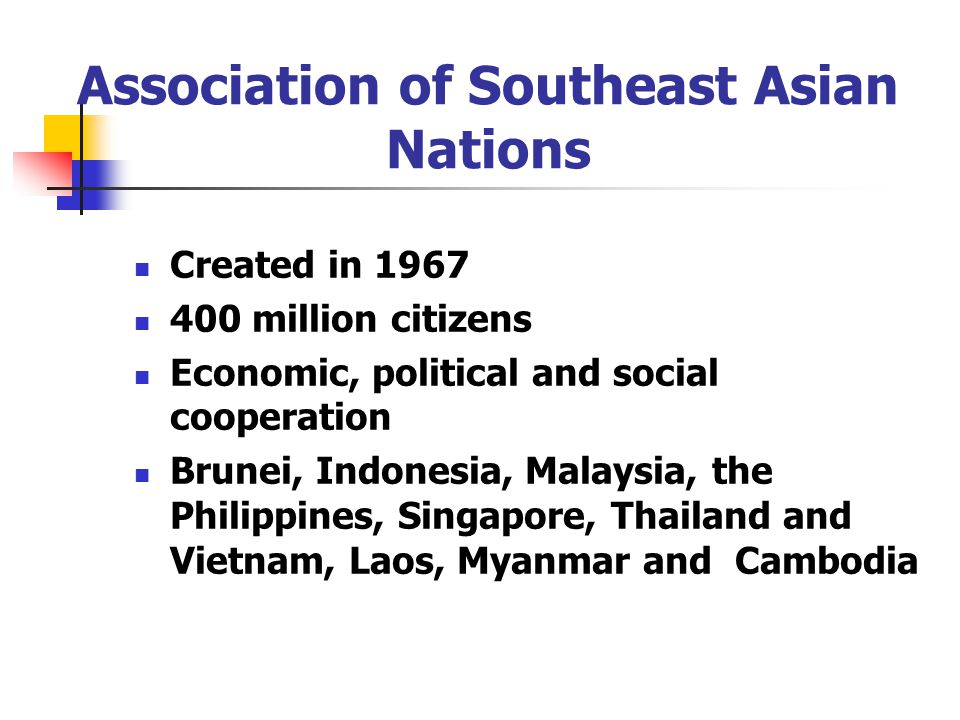 the association of southeast asian nations Sustainable development of offender treatment policy in the association of  southeast asian nations (asean) countries - volume 55 issue 2.