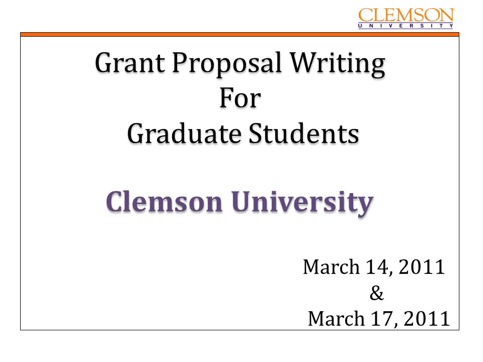 """grant proposal writers The office of research and economic development will offer a grant writing  seminar, """"write winning grant proposals,"""" on march 15, 2019, from 8:30 am-5  pm."""
