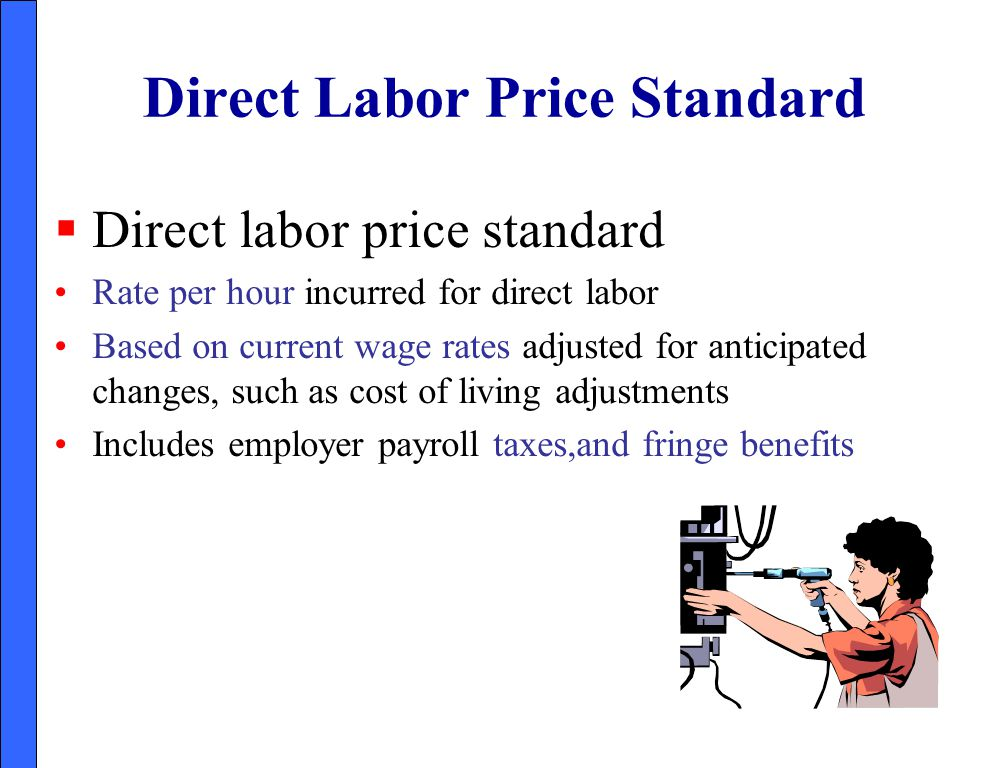 Direct Labor Price Standard
