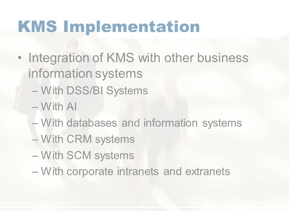 knowledge management systems kms pdf