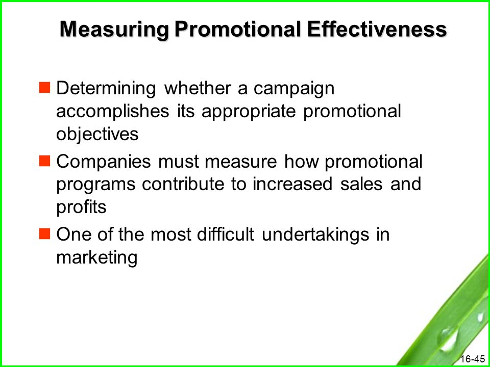 measuring advertising effectiveness Tool to provide the market with a benchmark measure of advertising effectiveness finally, we discuss future research lines keywords.