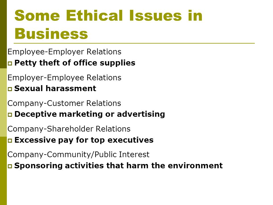 top five ethical issues in human Identified and develop educational sessions needed to educate administrators on identification of ethical issues and ethical decision (ana) center for ethics and human rights as the ana director, she is the primary staff for the national nursing center for ethics and human rights at.