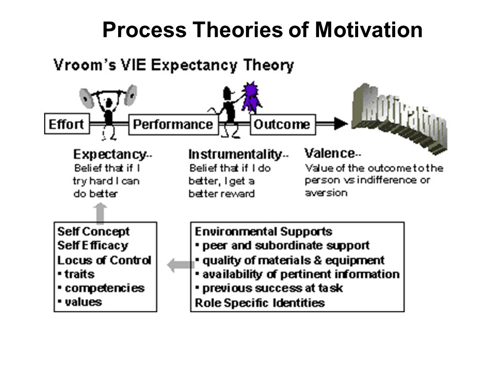 process theories of motivation It has been suggested that natural and rational theories of motivation be merged into this article examples of content and process theories of motivation.