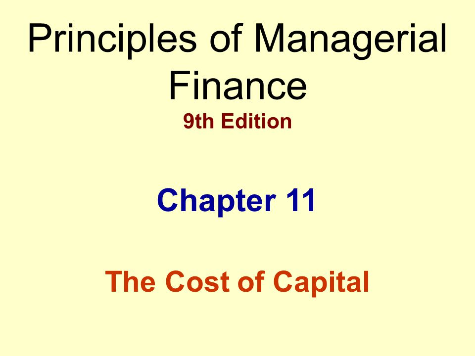 principles of managerial finance 11th edition gitman chapter 7 I want solutions of 14th chapter of managerial finance lawrence j gitman 11th edition's numericals its so urgent plz send me fast.
