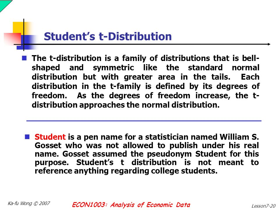 Estimation and confidence intervals ppt video online for T table for 99 degrees of freedom