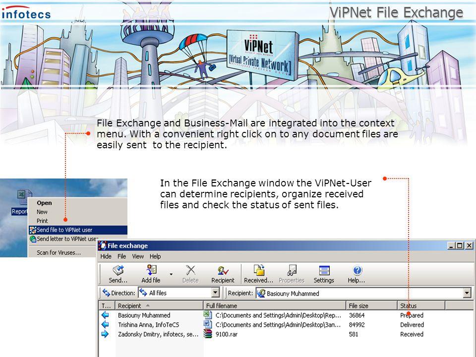 ViPNet File Exchange