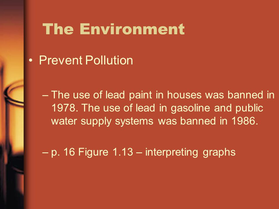 Chapter 1 introduction to chemistry ppt video online for When was lead paint banned