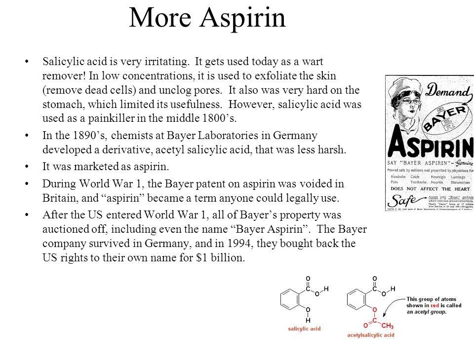 More Aspirin