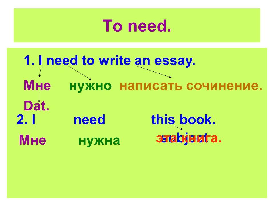 i need to write an essay