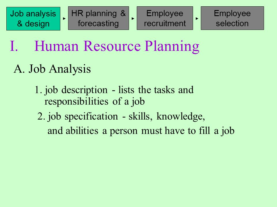 human resource planning forecasting Describe the different methods used for forecasting human resource needs 6 define the concept of benchmarking 7 discuss the purpose of a skills inventory 8.