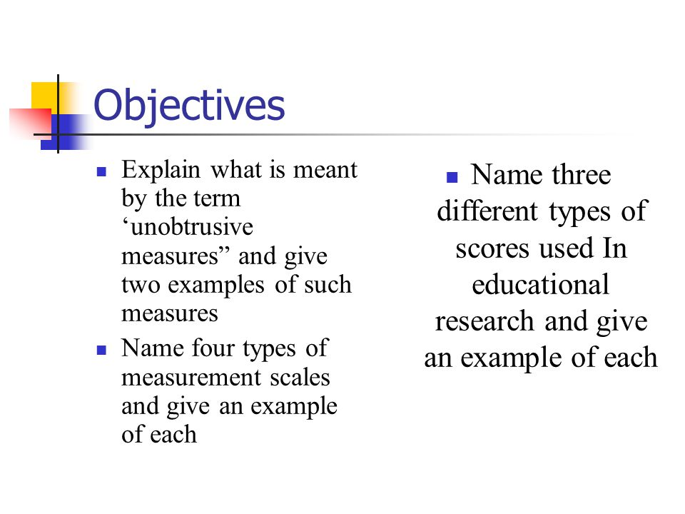 Examples Of Measurement Instruments : Chapter selecting measuring instruments gay and airasian
