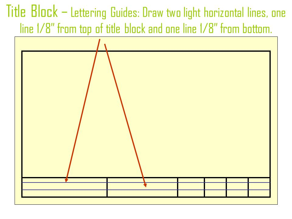 Drawing With Horizontal Lines : Engineering design and research ppt download