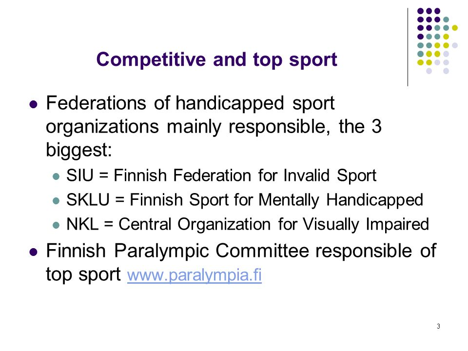 Competitive and top sport