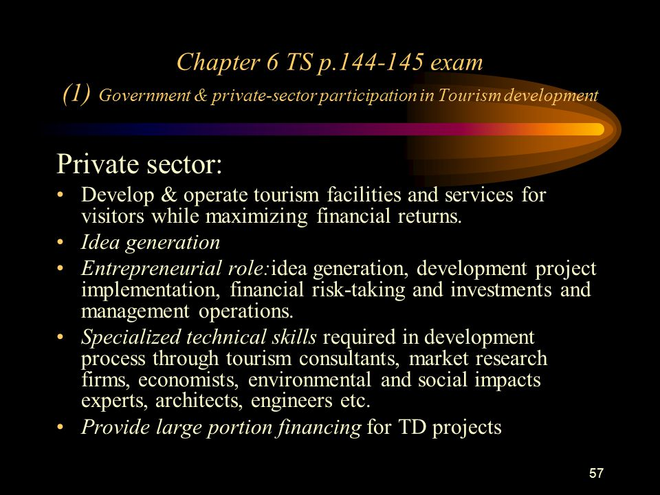 private sector in tourism Promoting private sector engagement in climate resilient tourism government  of nepal ministry of culture, tourism and civil aviation.