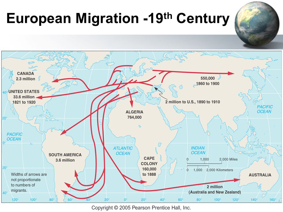 migration in the 19th century Migration spaniards participated fully in the massive 19th- and early 20th-century european immigration to the americas between 1846 and 1932 nearly five million spaniards went to the americas, mostly to south america in general and to argentina and brazil in particular only britain, italy, austria-hungary, and germany had more.
