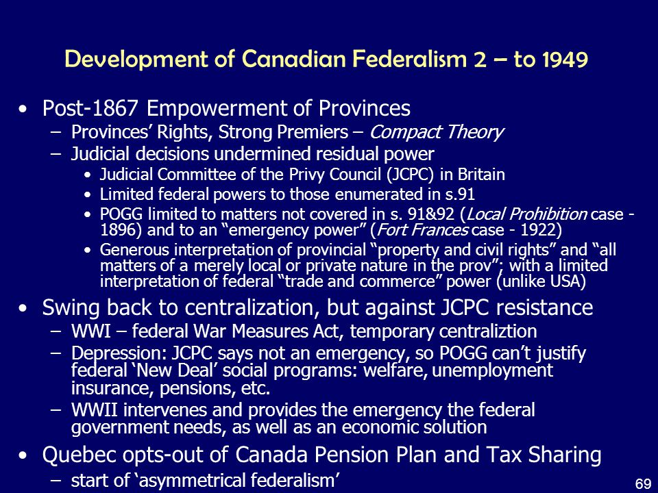 development of federalism Federalism article iv defined the relationship between the federal government and the states in a system of federalism , which divides the power of government between national and state governments this federal system was meant to correct the chaos of the country during the articles of confederation.