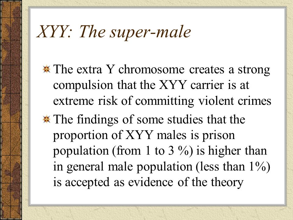 from Kelvin extra y chromosome in gay men